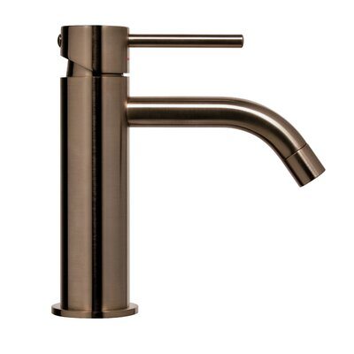 Light Exclusive Single Handle Bathroom Faucet Finish: Brushed Black Nickel