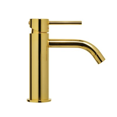Light Exclusive Single Handle Bathroom Faucet Finish: Honey Gold