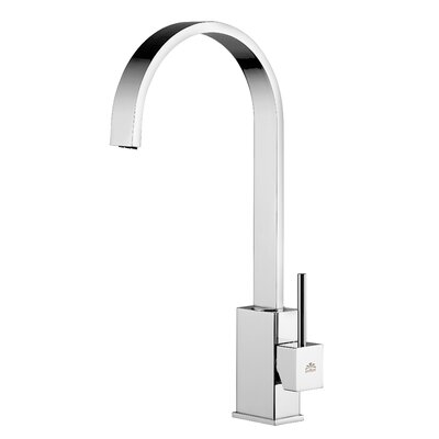 Level Single Handle Kitchen Faucet Finish: Polished Chrome