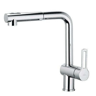 Ringo 285 One Handle Single Hole Kitchen Faucet with Pull-out Spray