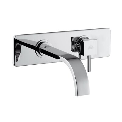 Level LEA Concealed Single Lever Sink Faucet with Rectangular Spout Finish: Polished Chrome