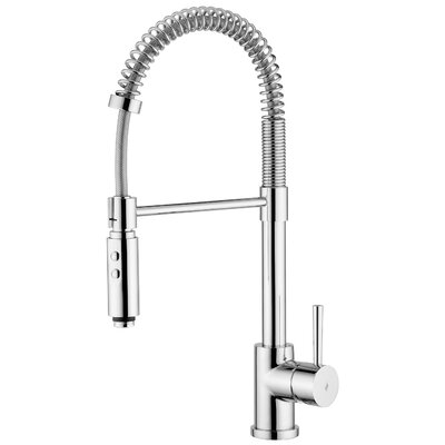 Evo Single Handle Kitchen Faucet Finish: Polished Chrome