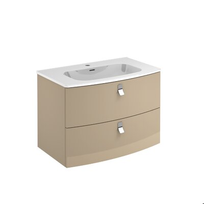 Rondo 32 Single Bathroom Vanity Set Base Finish: Taupe