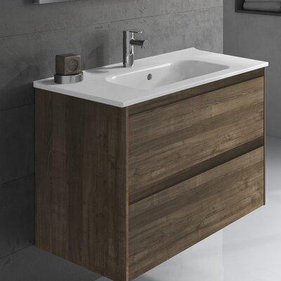 Ambra 24 Single Bathroom Vanity Set Base Finish: Samara Ash