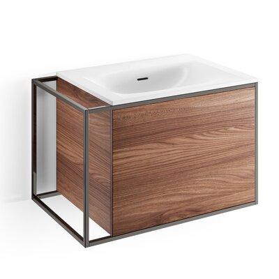 Gerla 28 Single Bathroom Vanity Set Faucet Mount: Without Faucet Hole