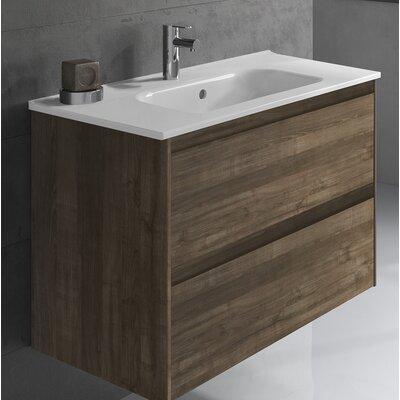 Ambra 32 Single Bathroom Vanity Set Base Finish: Samara Ash