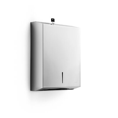 Otel 3.9 x 11 Wal Mount Paper Towel Dispenser in Stainless Steel