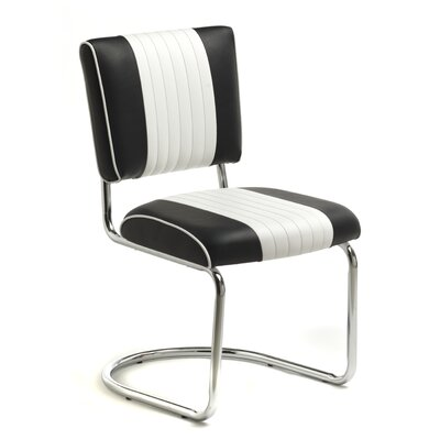 Retro Racer Back Side Chair (Set of 2)