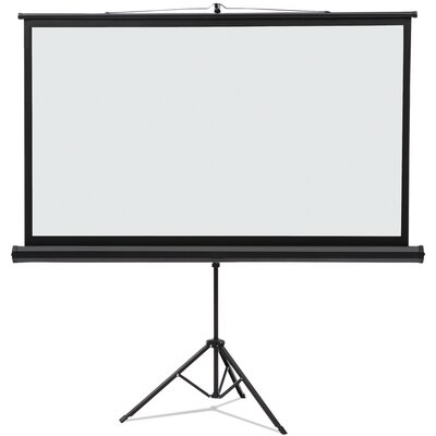 Matte White Portable Projection Screen Viewing Area: 52 H x 92 W