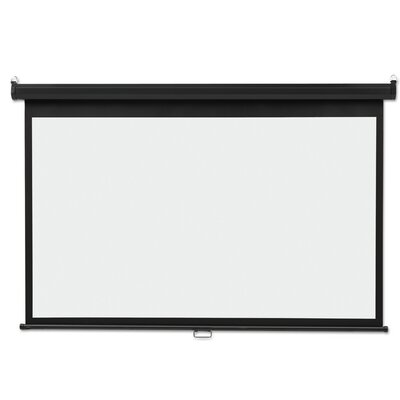 Matte White Manual Projection Screen Viewing Area: 65 H x 116 W