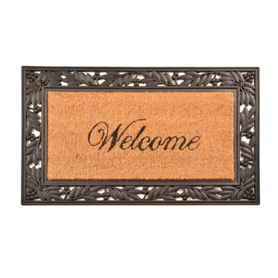 Welcome Cocoa Doormat