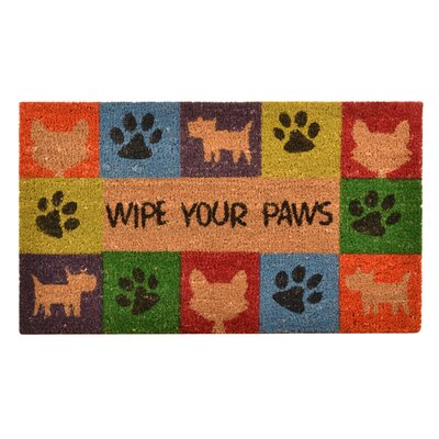 Carden Wipe Your Paws Doormat