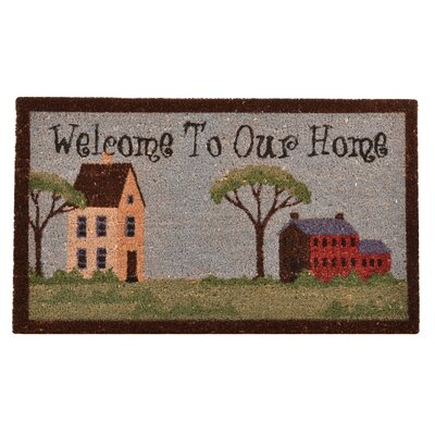 Welcome to Our House Doormat