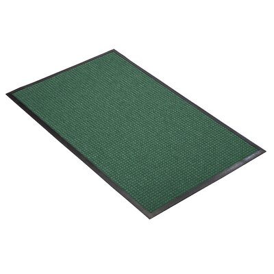Guzzler Solid Doormat Mat Size: Rectangle 3 x 4, Color: Hunter Green