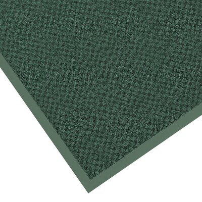 Preference Solid Doormat Mat Size: Rectangle 3 x 5, Color: Hunter Green