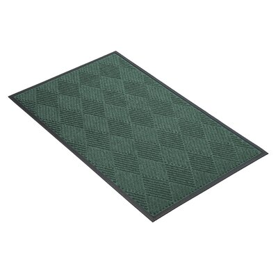 Opus Doormat Size: Rectangle 3 x 4, Color: Hunter Green
