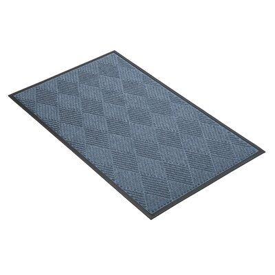 Opus Doormat Size: Rectangle 3 x 5, Color: Blue