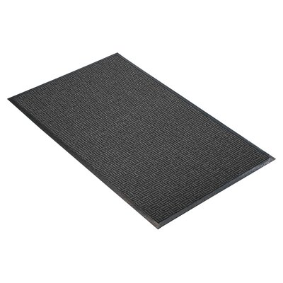 Portrait Doormat Mat Size: Rectangle 3 x 10, Color: Charcoal