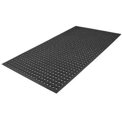 Grillin Comfort Dog Bone Utility Mat Color: Black