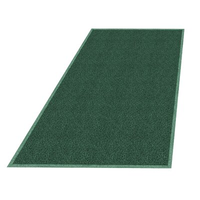 Wayfarer Solid Utility Mat Size: 3 x 5, Color: Leaf Green