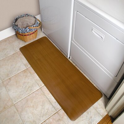 Comfort Style Doormat Mat Size: Rectangle 18 x 48, Color: Oak