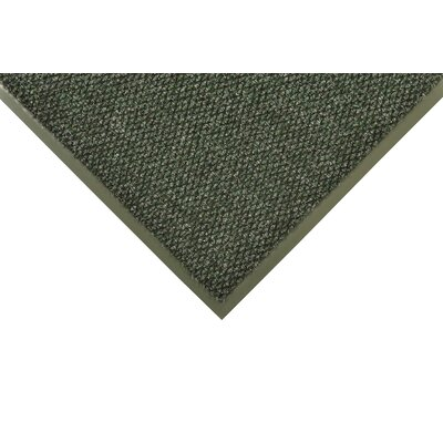 Polynib Solid Doormat Size: 4 x 8, Color: Hunter Green