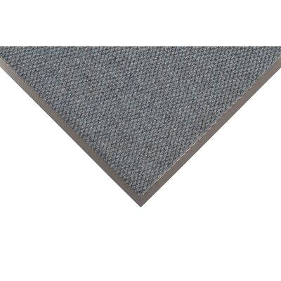 Polynib Solid Doormat Size: 4' x 6', Color: Slate Blue