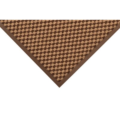 Preference Solid Doormat Size: Rectangle 3 x 4, Color: Brown / Beige