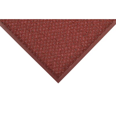 Preference Solid Doormat Size: Rectangle 4 x 6, Color: Burgundy