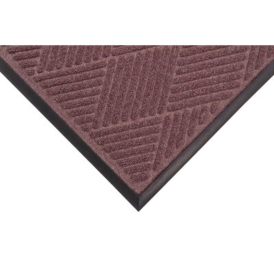 Opus Doormat Mat Size: Rectangle 4' x 10', Color: Burgundy