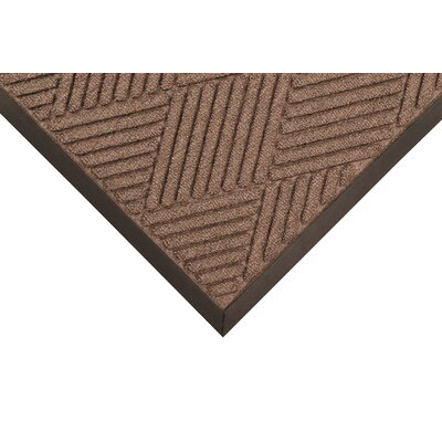 Opus Doormat Size: Rectangle 4 x 10, Color: Brown