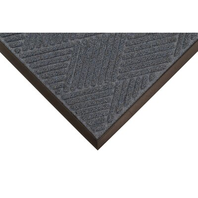 Opus Doormat Mat Size: Rectangle 4' x 10', Color: Blue