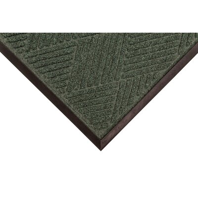 Opus Doormat Mat Size: Rectangle 4' x 10', Color: Hunter Green