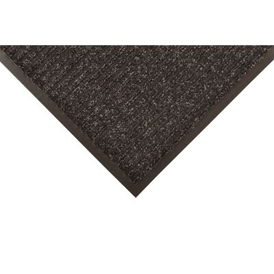 Heritage Rib Doormat Size: Rectangle 4 x 6, Color: Charcoal