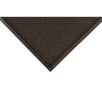 Encore Doormat Mat Size: Rectangle 3 x 6, Color: Black