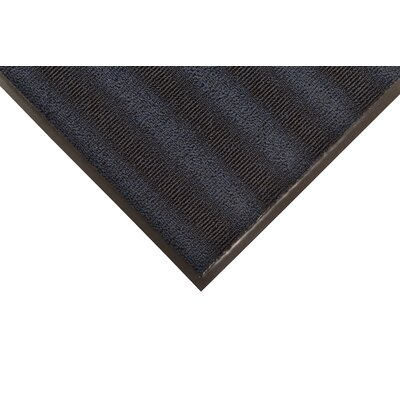 Boulevard Doormat Color: Navy Blue, Size: 4 x 8