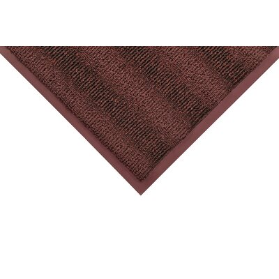 Boulevard Doormat Color: Burgundy, Size: 3 x 6