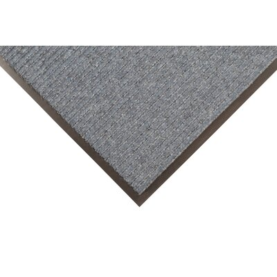 Brush Step Doormat Color: Slate Blue, Size: 3 x 5