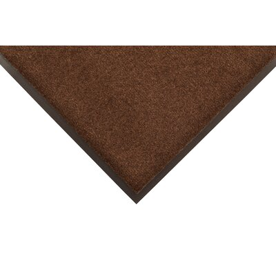 Sabre Doormat Color: Brown, Size: 3 x 4