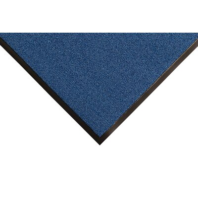 Opera Doormat Color: Blue, Size: Runner 4 x 12