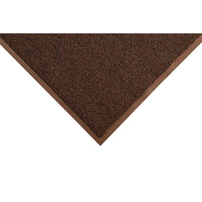 Opera Doormat Color: Brown, Size: Runner 4 x 12