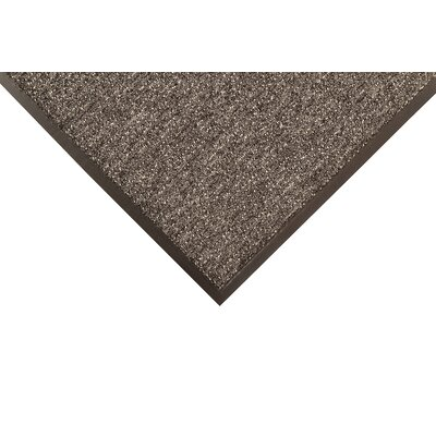 Encore Doormat Mat Size: Rectangle 4 x 8, Color: Gray