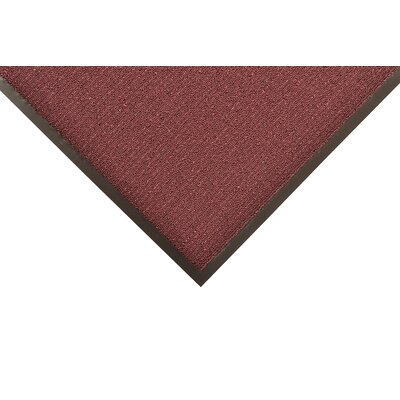 Encore Doormat Color: Burgundy, Size: 4 x 8