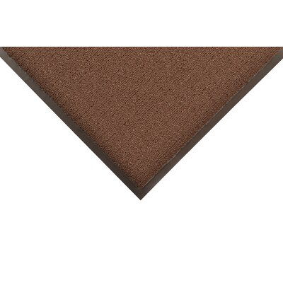 Encore Doormat Size: Rectangle 4 x 6, Color: Brown