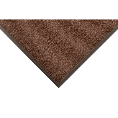 Prelude Doormat Color: Brown, Size: 4 x 8