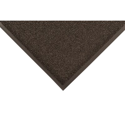 Prelude Doormat Color: Black, Size: 3' x 4'