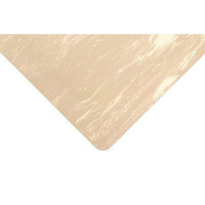 Marble Sof-Tyle Grande Utility Mat Size: Rectangle 3 x 5, Color: Beige