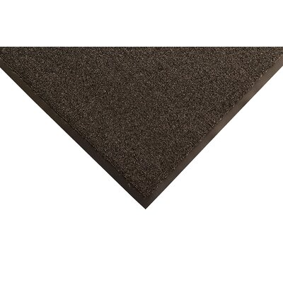 Opera Doormat Color: Black, Size: Runner 4 x 12