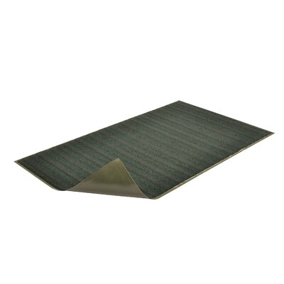 Boulevard Doormat Size: Rectangle 3 x 6, Color: Green
