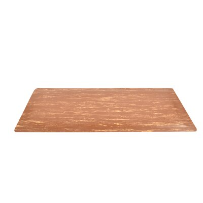 Marble Sof-Tyle Grande Utility Mat Mat Size: Rectangle 3 x 5, Color: Walnut